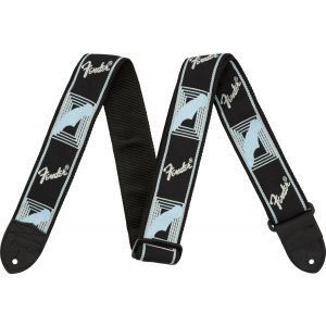 Fender Monogrammed Black/Light Grey/Blue