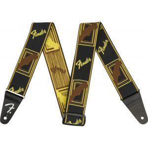 Fender Weighless 2 Monogram Black/Yellow/Brown