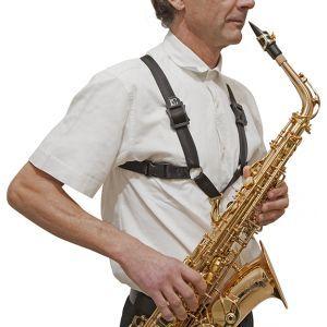 BG France S40MSH Alto/Tenor/Baritone Saxophone Strap