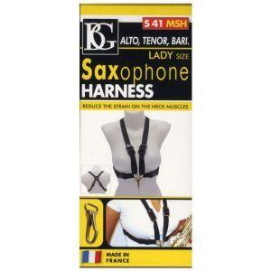 BG France S41MSH Alto/Tenor/Baritone Saxophone Strap Ladies