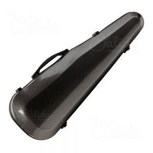 Valida Fiber Glass Violin Case V500 Black