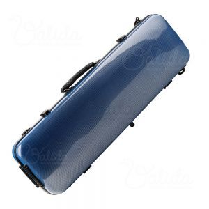 Valida Fiber Glass Violin Case V510 Blue