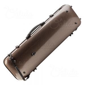 Valida Fiber Glass Violin Case V510 Gold