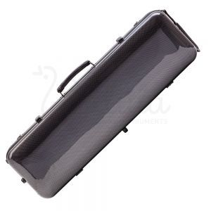 Valida Fiber Glass Violin Case V510 Grey