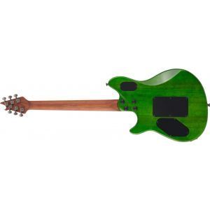 EVH Wolfgang WG Standard QM Transparent Green