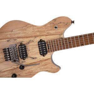 EVH Wolfgang® WG Standard Exotic Spalted Maple, Baked Maple Fingerboard, Natural