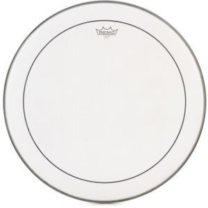 Remo Pinstripe White Coated Bass Drum 22