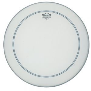 Fata Toba Remo Powerstroke 3 White Coated Bass Drum 22