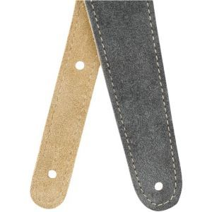 Fender Reversible Suede Strap Gray and Tan