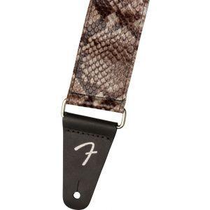 Fender Wild Faux Snakeskin Leather Strap Snakeskin