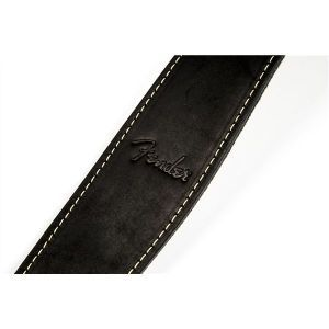 Fender Ball Glove Leather Strap Black