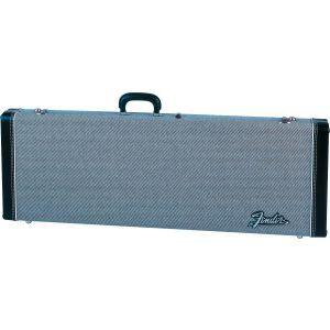 Fender G&G Deluxe Hardshell Cases - Stratocaster/Telecaster Black Tweed with Black Interior