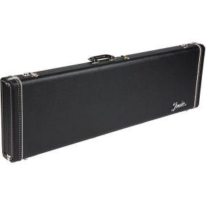 Fender G&G Deluxe Hardshell Cases - Jazz Bass Black with Orange Plush Interior