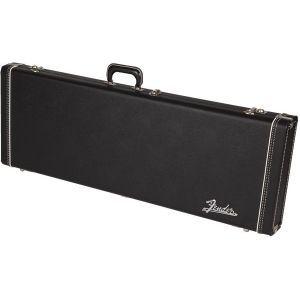 Fender G&G Deluxe Hardshell Cases - Jaguar - Jazzmaster - Toronado - Jagmaster Black with Orange Plush Interior