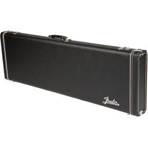 Fender G&G Deluxe Hardshell Cases - Precision Bass Black with Orange Plush Interior