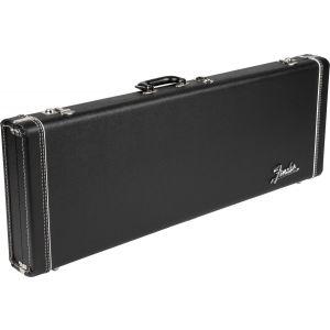 Fender G&G Deluxe Hardshell Cases - Stratocaster/Telecaster Black with Orange Plush Interior
