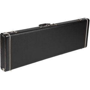 Fender G&G Standard Hardshell Cases - Jazz Bass - Jaguar Bass Black with Black Plush Interior