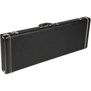 Fender G&G Standard Hardshell Cases - Jaguar - Jazzmaster - Toronado - Jagmaster Black with Black Plush Interior