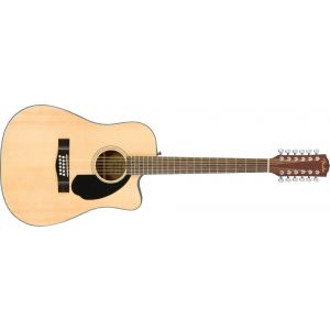 Fender CD-60SCE Dreadnought 12-String Natural