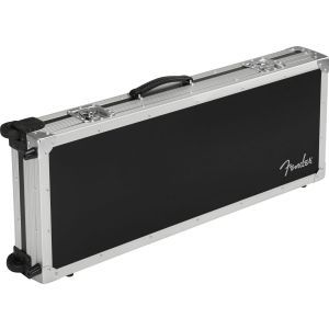Fender CEO Flight Case with Wheels Black and Silver
