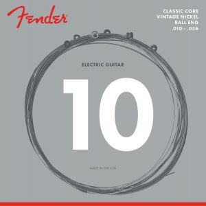 Fender Classic Core Electric Guitar Strings Vintage Nickel Ball Ends