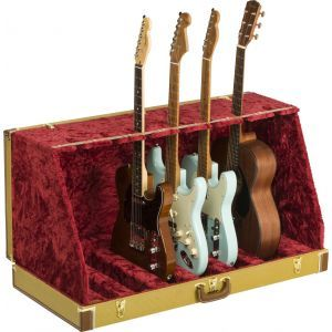 Fender Classic Series Case Stand - 7 Guitar Tweed