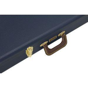 Fender Classic Series Wood Case Strat/Tele Navy Blue Navy