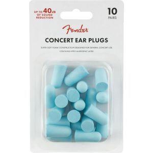 Fender Concert Ear Plugs (10 Pair) Daphne Blue