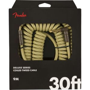 Fender Deluxe Series Coil Cable Tweed 30 Tweed