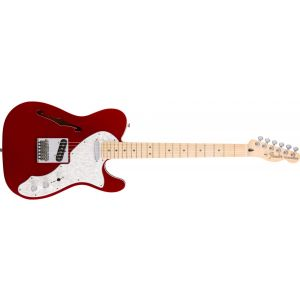 Fender Deluxe Tele Thinline Candy Apple Red