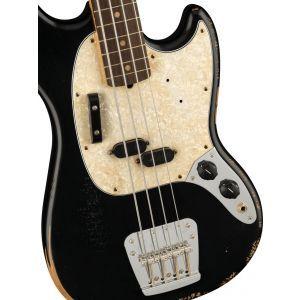 Fender JMJ Road Worn Mustang Bass Black