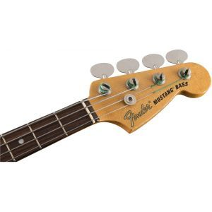 Fender JMJ Road Worn Mustang Bass Faded Daphne Blue