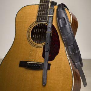 Fender Mustang Saddle Strap - Long Black