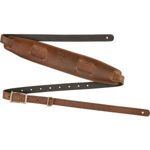 Fender Mustang Saddle Strap - Long Cognac