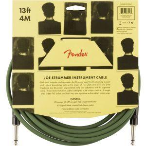 Fender Joe Strummer 13 Instrument Cable Drab Green