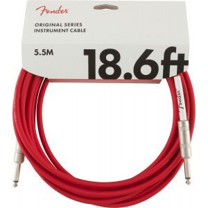Fender Original Series Instrument Cables Fiesta Red