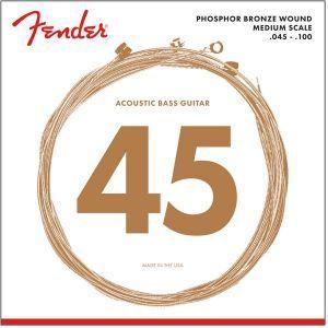 Fender 7060 Phosphor Bronze Acoustic Bass Strings