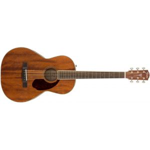 Fender PM-2 Parlor NE All-Mahogany Natural Natural