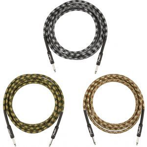Fender Professional Series Instrument Cable Camo Winter Camo