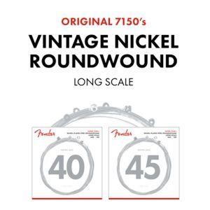 Fender 7150 Pure Nickel Bass Strings
