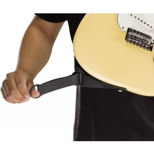 Fender Right Height Rayon Strap Black