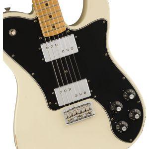 Fender Vintera Road Worn 70s Telecaster Deluxe Olympic White