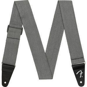 Fender Modern Tweed Strap White/Black 2