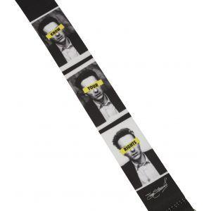 Fender Joe Strummer Know Your Rights Strap Black