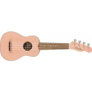 Fender Venice Soprano Ukulele Shell Pink