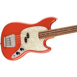 Fender Vintera 60s Mustang Bass Fiesta Red