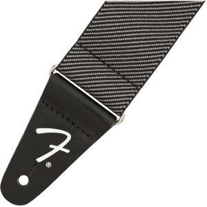 Fender WeighLess Tweed Strap Gray