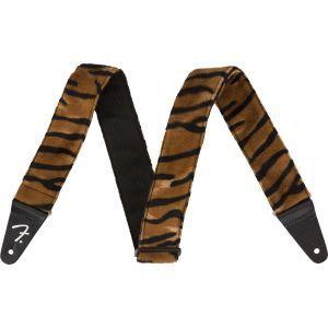 Fender Wild Animal Print Straps Black/Orange
