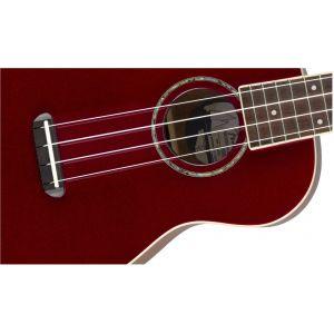 Fender Zuma Classic Concert Ukulele Candy Apple Red