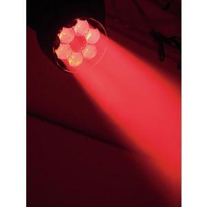 FUTURELIGHT Set 4x EYE-7 RGBW Zoom + Case